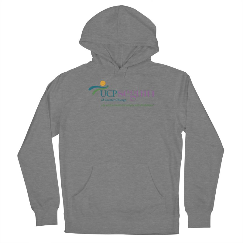 Apparel w/ Color Logo - Full Chest Men's French Terry Pullover Hoody by UCP Seguin Swag Shop