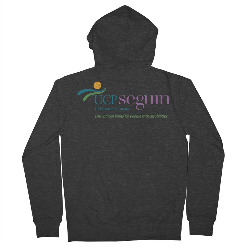 Apparel w/ Color Logo - Full Chest Women's French Terry Zip-Up Hoody by UCP Seguin Swag Shop