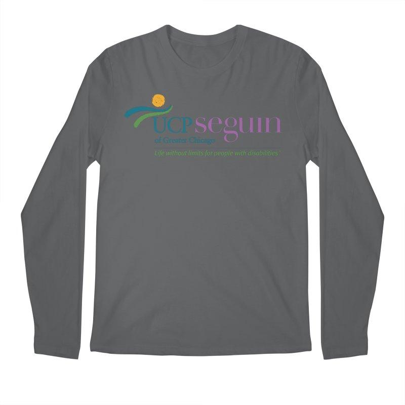 Apparel w/ Color Logo - Full Chest Men's Regular Longsleeve T-Shirt by UCP Seguin Swag Shop