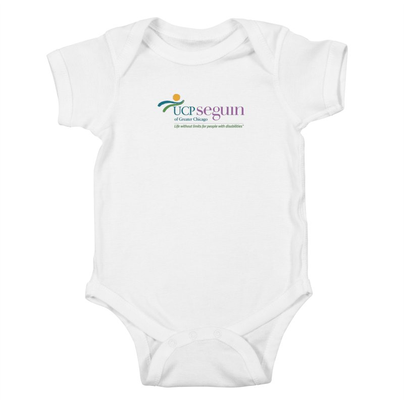 Apparel w/ Color Logo - Full Chest Kids Baby Bodysuit by UCP Seguin Swag Shop