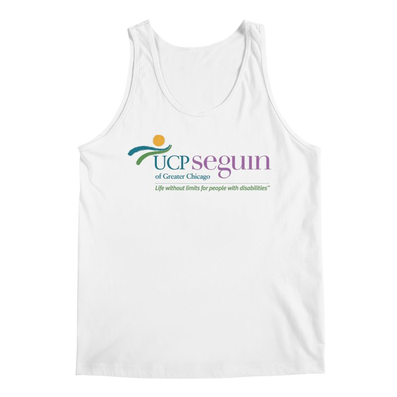 Apparel w/ Color Logo - Full Chest Men's Tank by UCP Seguin Swag Shop