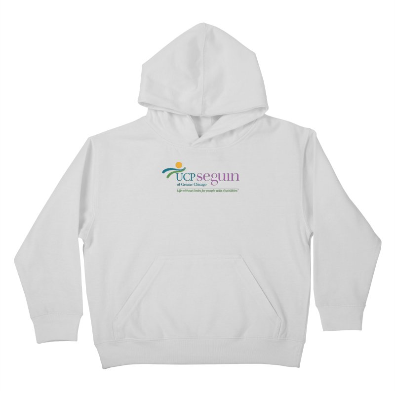 Apparel w/ Color Logo - Full Chest Kids Pullover Hoody by UCP Seguin Swag Shop