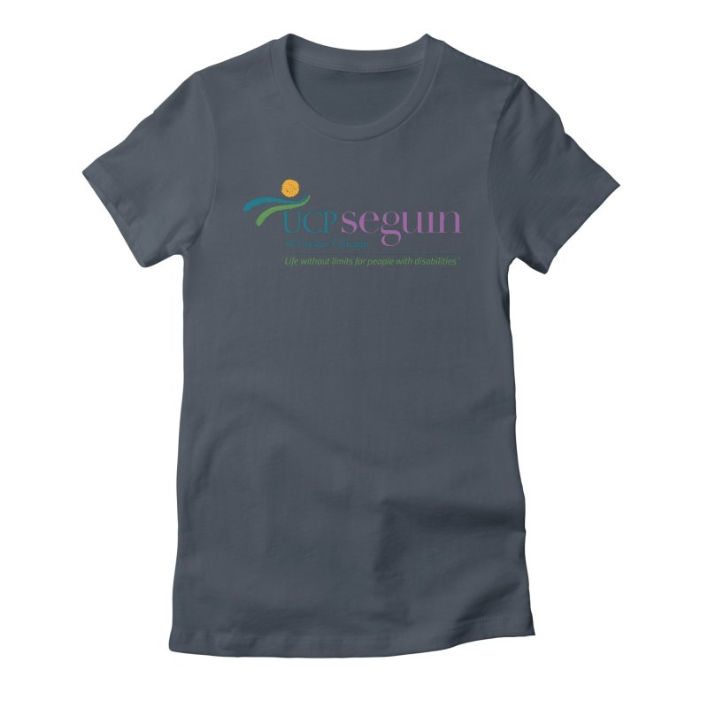 Apparel w/ Color Logo - Full Chest Women's T-Shirt by UCP Seguin Swag Shop