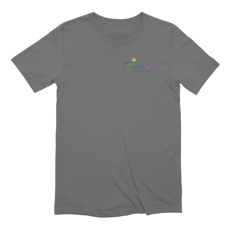 Apparel w/ Color Logo - Left Chest Men's T-Shirt by UCP Seguin Swag Shop