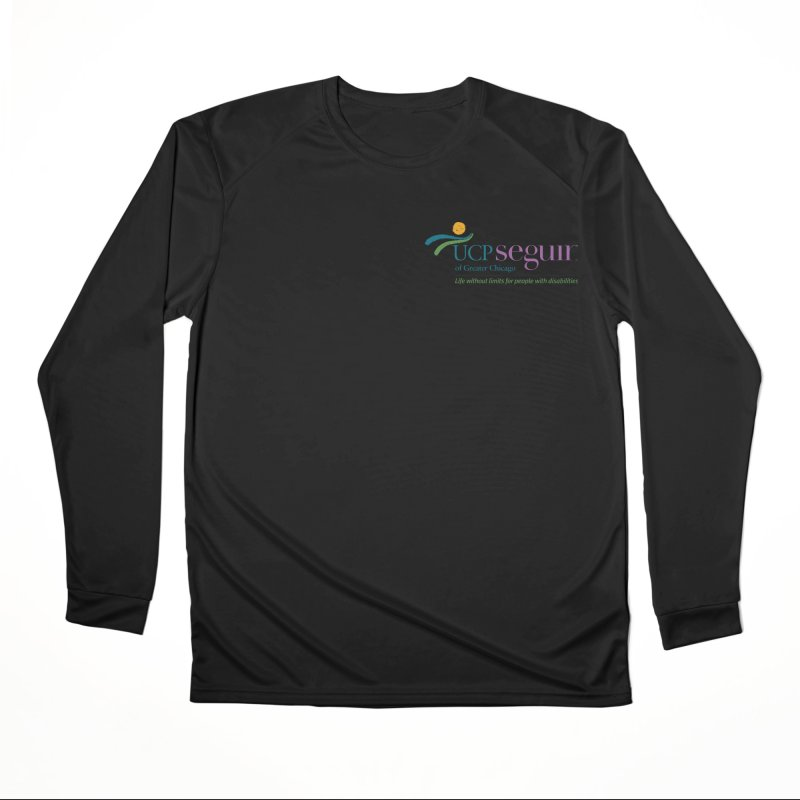 Apparel w/ Color Logo - Left Chest Men's Performance Longsleeve T-Shirt by UCP Seguin Swag Shop