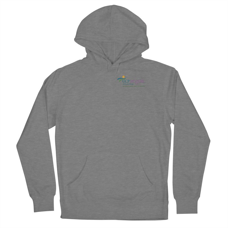 Apparel w/ Color Logo - Left Chest Men's French Terry Pullover Hoody by UCP Seguin Swag Shop