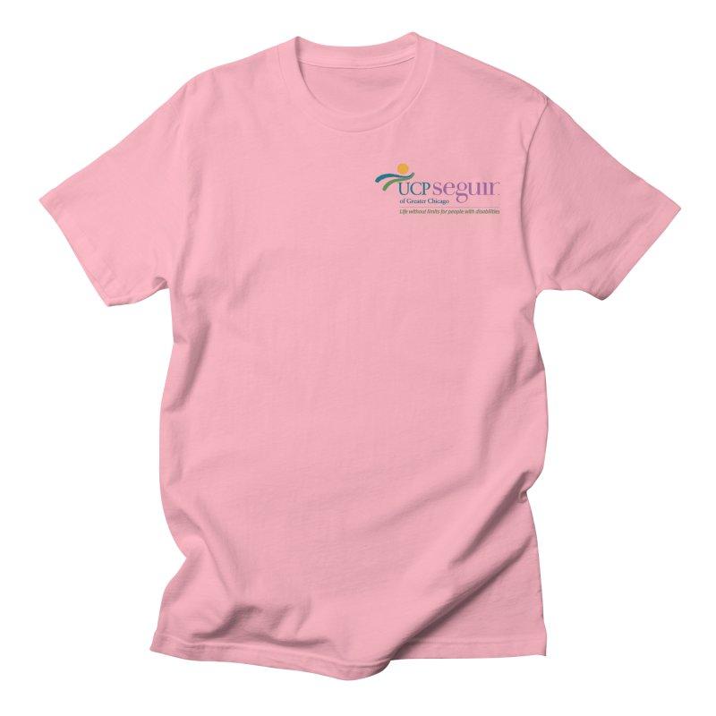 Apparel w/ Color Logo - Left Chest Men's Regular T-Shirt by UCP Seguin Swag Shop