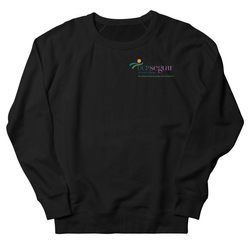 Apparel w/ Color Logo - Left Chest Women's French Terry Sweatshirt by UCP Seguin Swag Shop