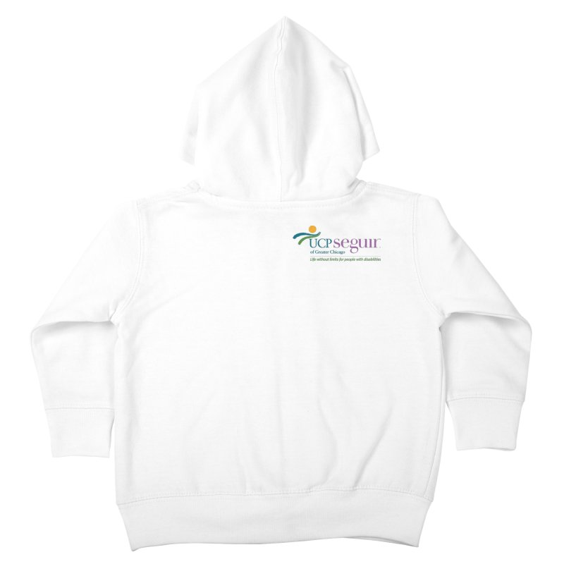 Apparel w/ Color Logo - Left Chest Kids Toddler Zip-Up Hoody by UCP Seguin Swag Shop