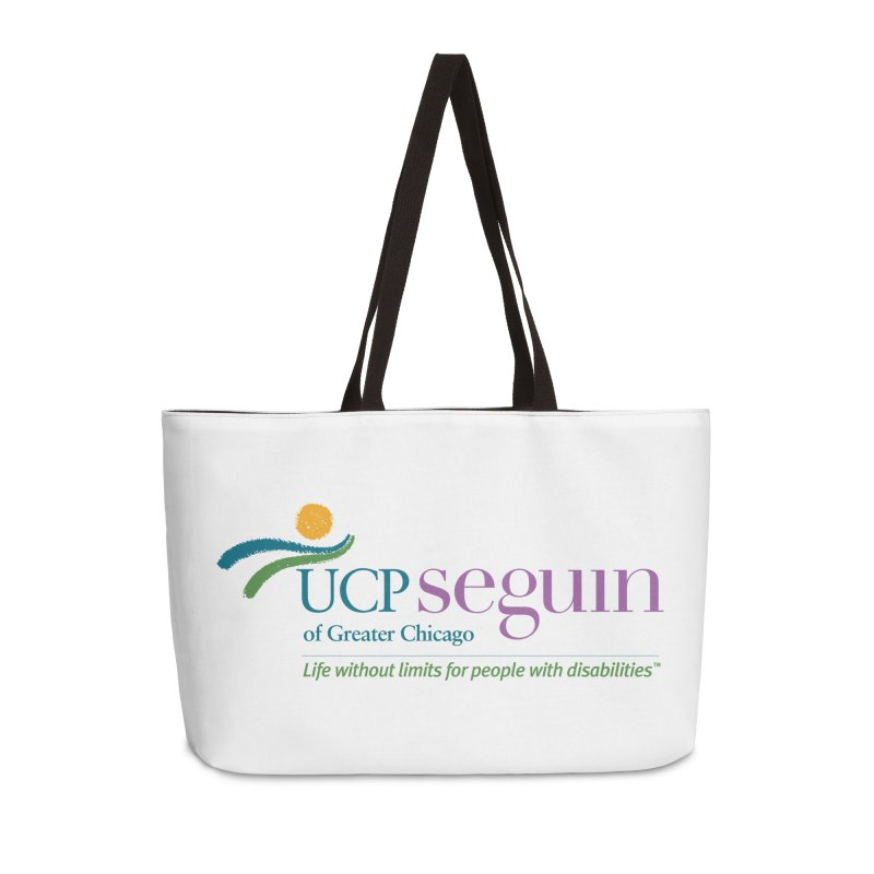 Accesories w/ Color Logo Accessories Weekender Bag Bag by UCP Seguin Swag Shop