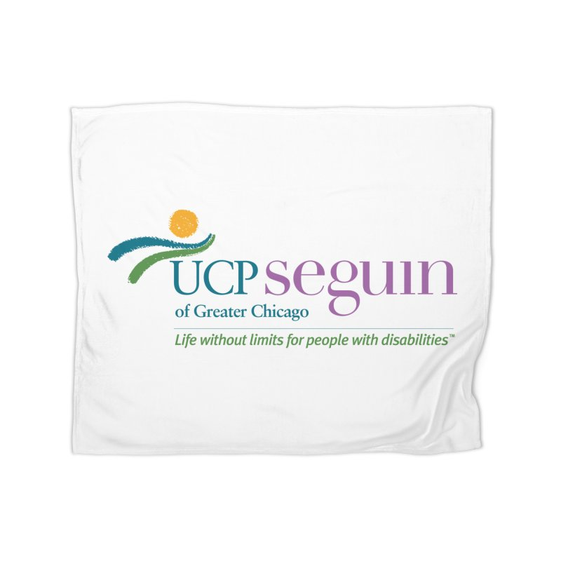 Accesories w/ Color Logo Home Fleece Blanket Blanket by UCP Seguin Swag Shop