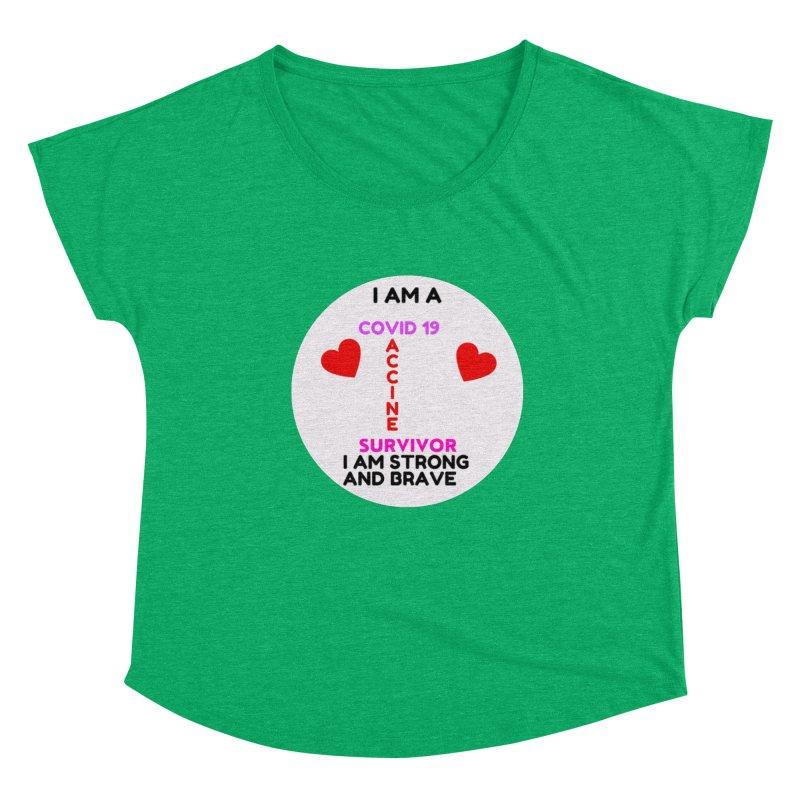 I Am A Survivor Women's Scoop Neck by UCP Seguin Swag Shop