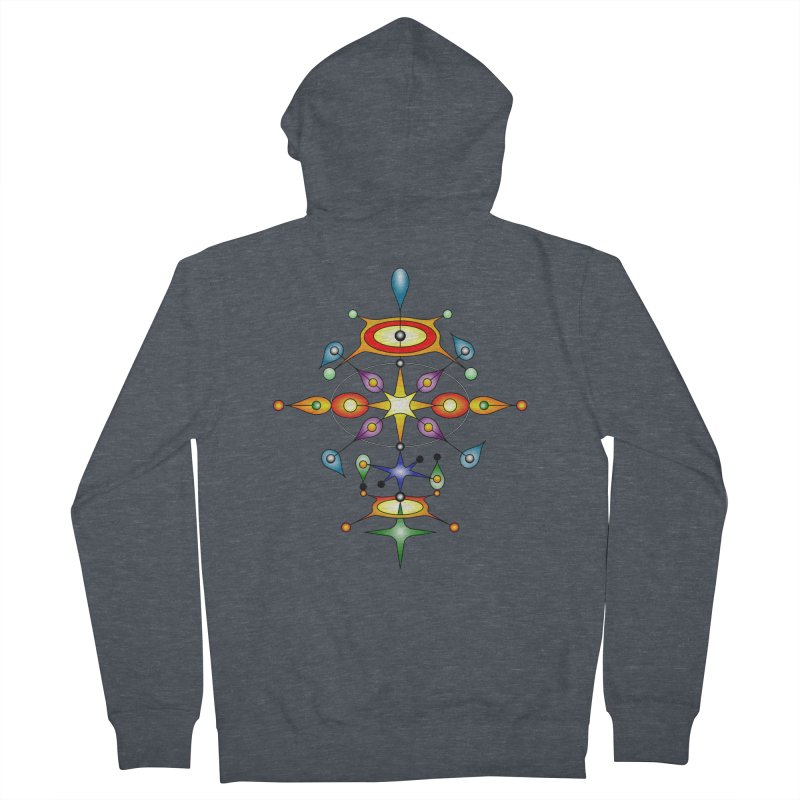 Form of universe Men's Zip-Up Hoody by Universe Deep Inside