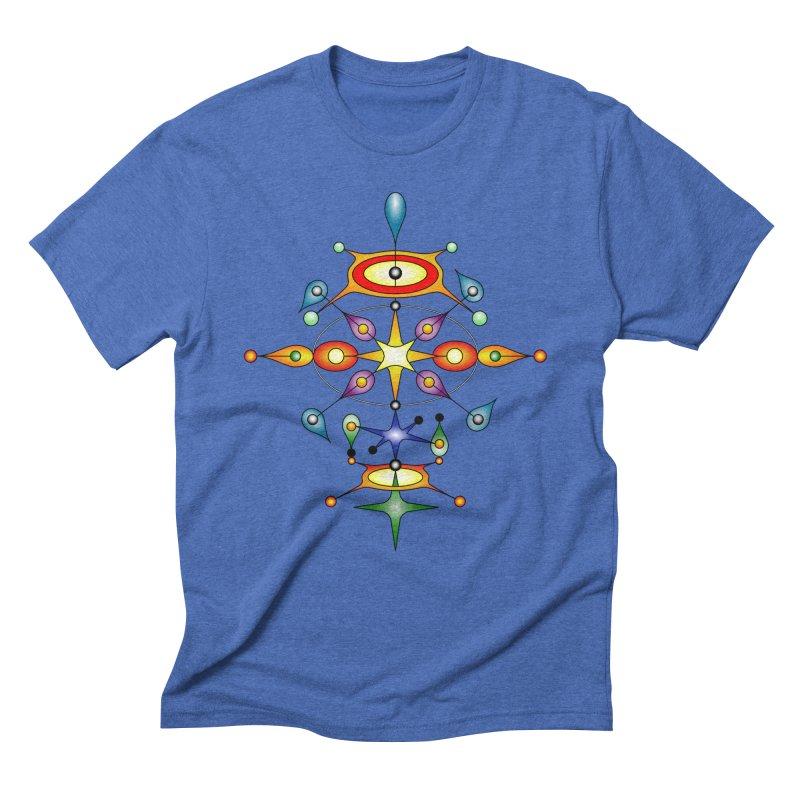 Form of universe Men's Triblend T-shirt by Universe Deep Inside