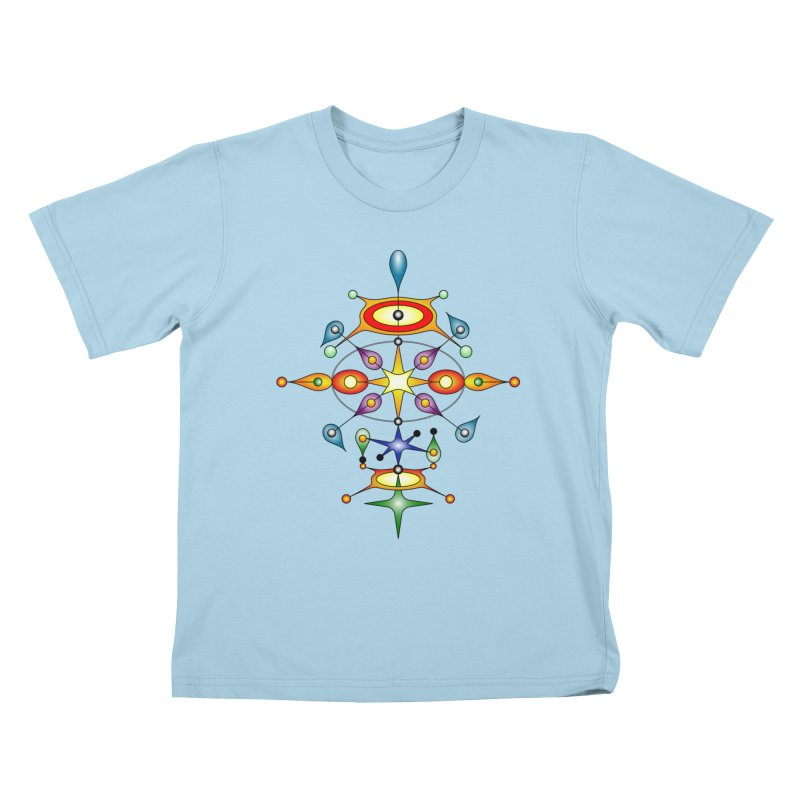 Form of universe Kids T-shirt by Universe Deep Inside