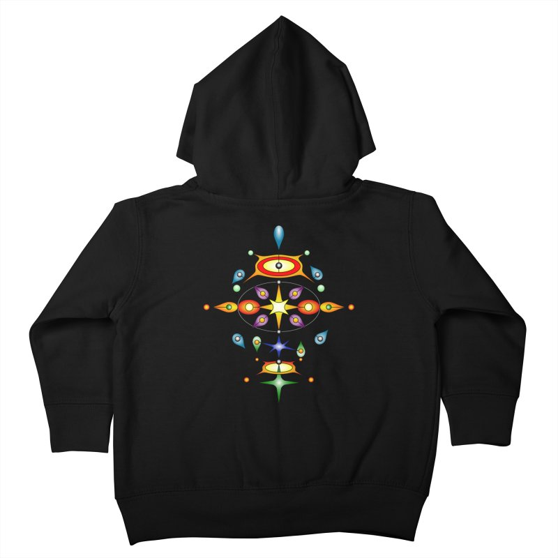 Form of universe Kids Toddler Zip-Up Hoody by Universe Deep Inside