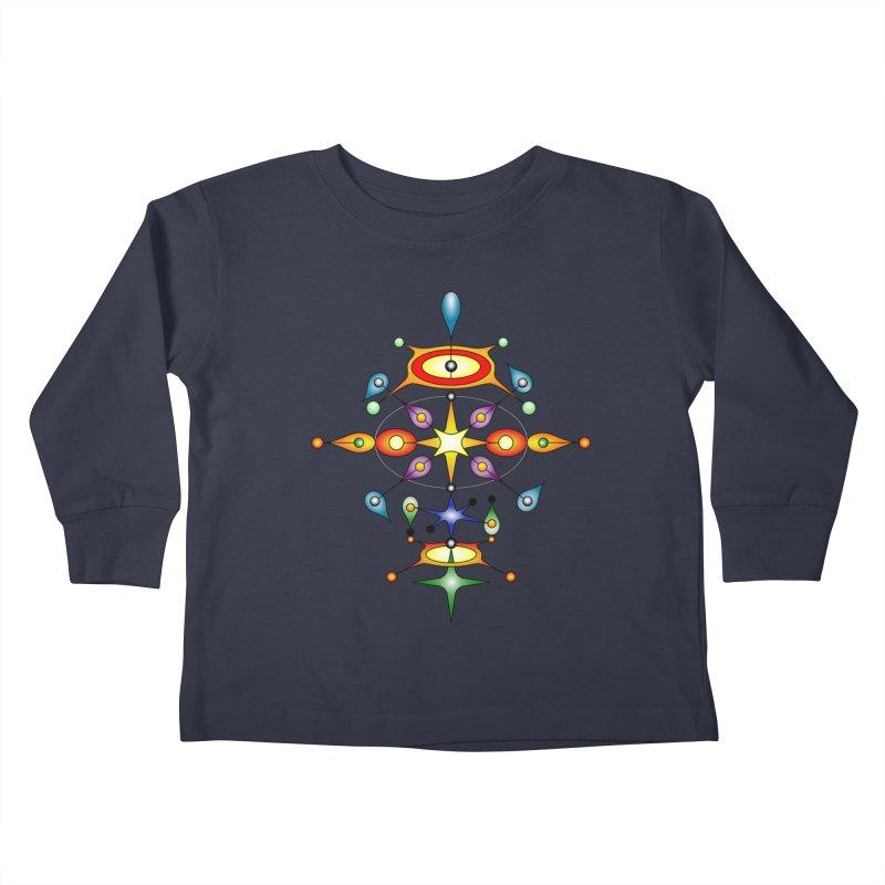 Form of universe Kids Toddler Longsleeve T-Shirt by Universe Deep Inside