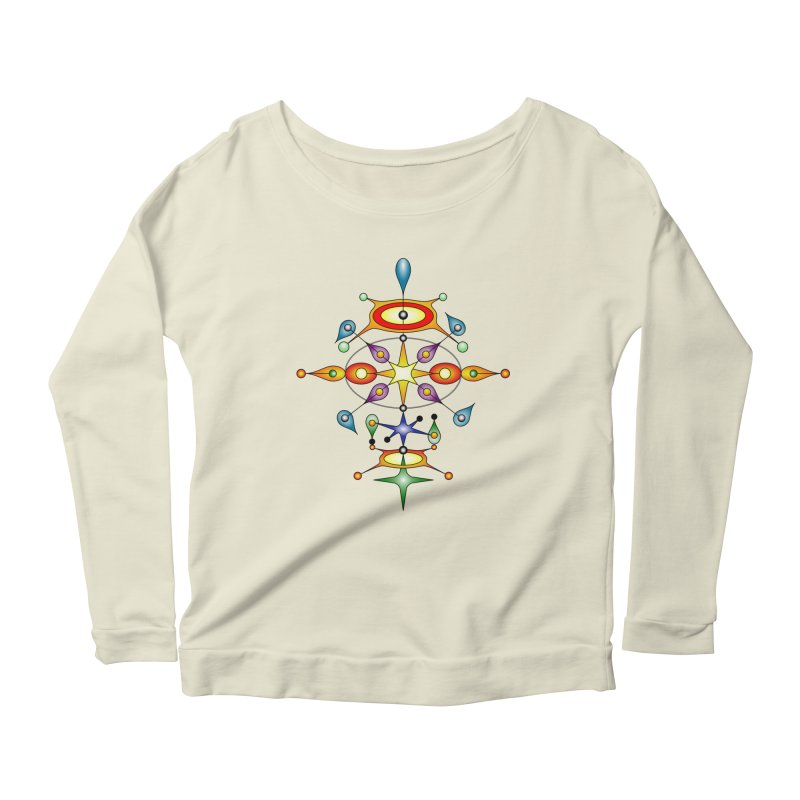 Form of universe Women's Longsleeve Scoopneck  by Universe Deep Inside