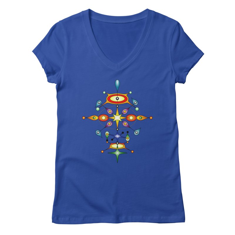 Form of universe Women's V-Neck by Universe Deep Inside