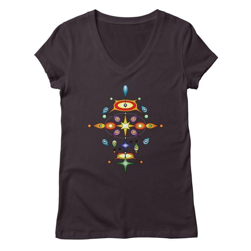 Form of universe Women's V-Neck by Universe Deep Inside