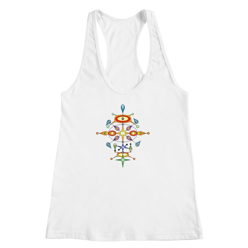 Form of universe Women's Racerback Tank by Universe Deep Inside