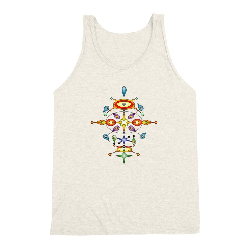 Form of universe Men's Triblend Tank by Universe Deep Inside