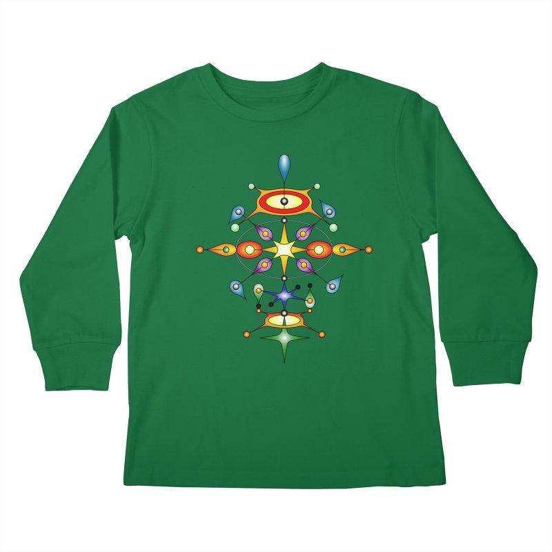 Form of universe Kids Longsleeve T-Shirt by Universe Deep Inside