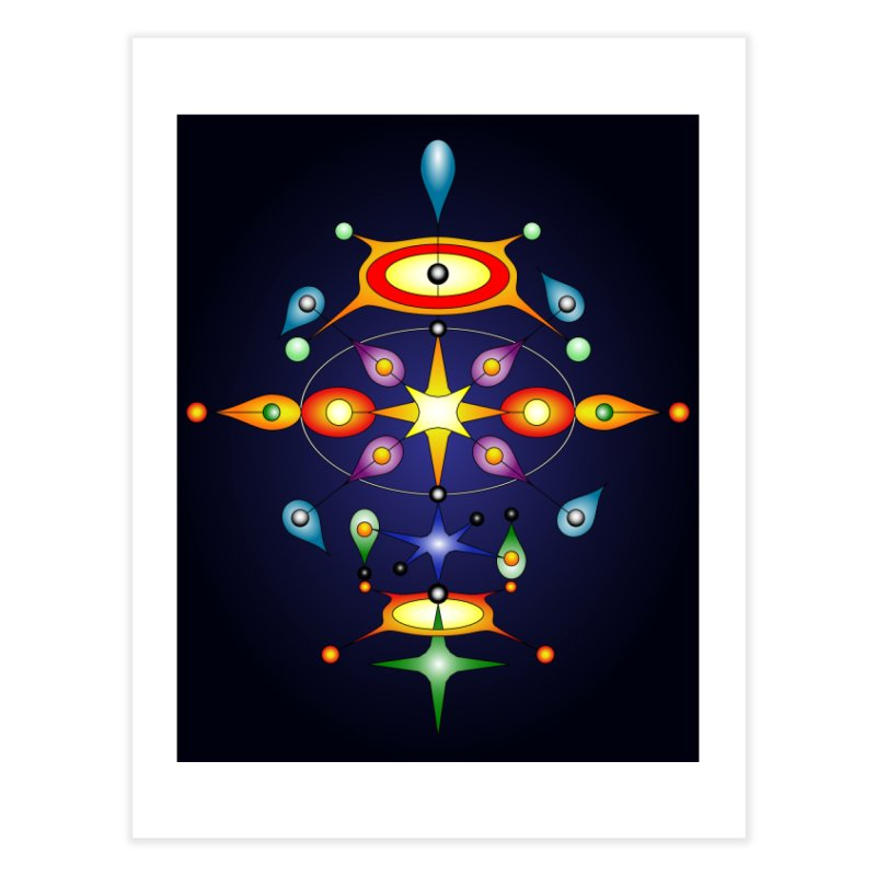 Form of universe Home Fine Art Print by Universe Deep Inside