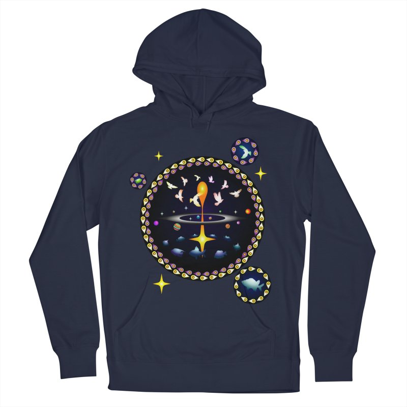 Universe of sky and sea Women's Pullover Hoody by Universe Deep Inside