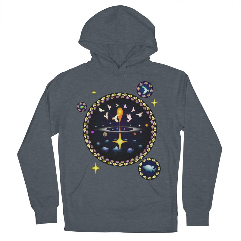 Universe of sky and sea Men's Pullover Hoody by Universe Deep Inside