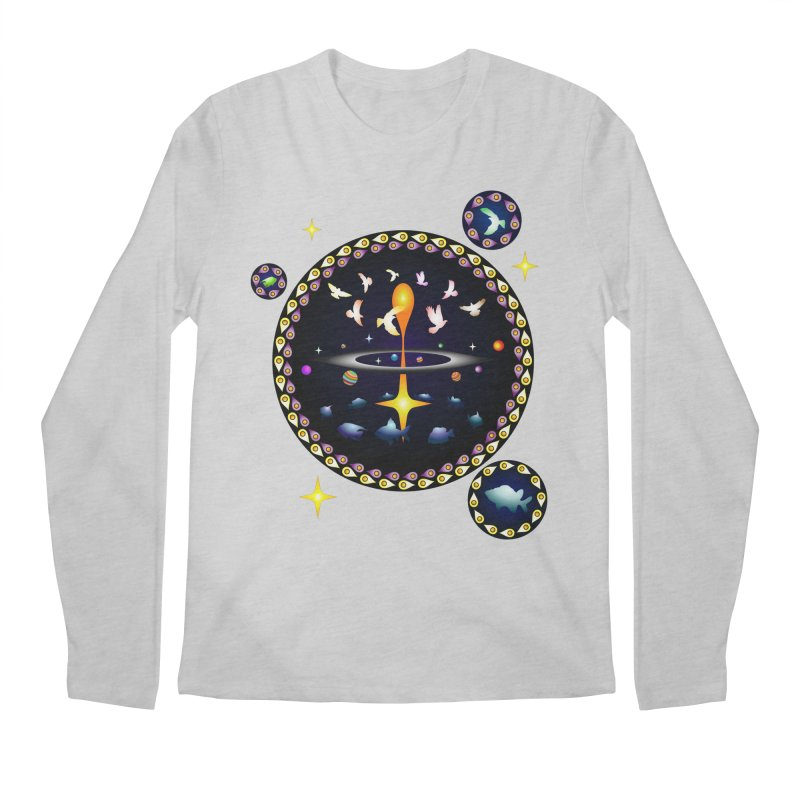 Universe of sky and sea Men's Longsleeve T-Shirt by Universe Deep Inside