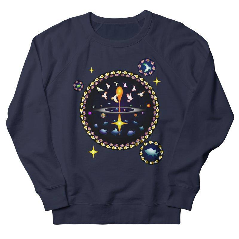 Universe of sky and sea Women's Sweatshirt by Universe Deep Inside