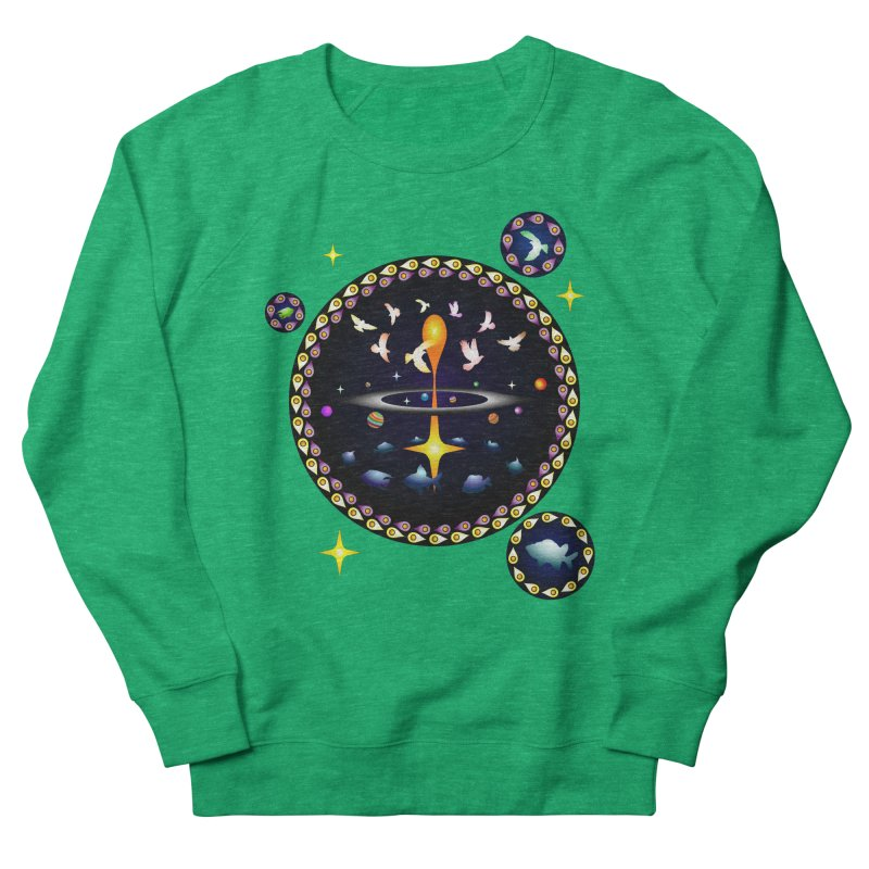 Universe of sky and sea Men's Sweatshirt by Universe Deep Inside