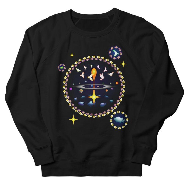 Universe of sky and sea Men's Sweatshirt by Universe Deep Inside