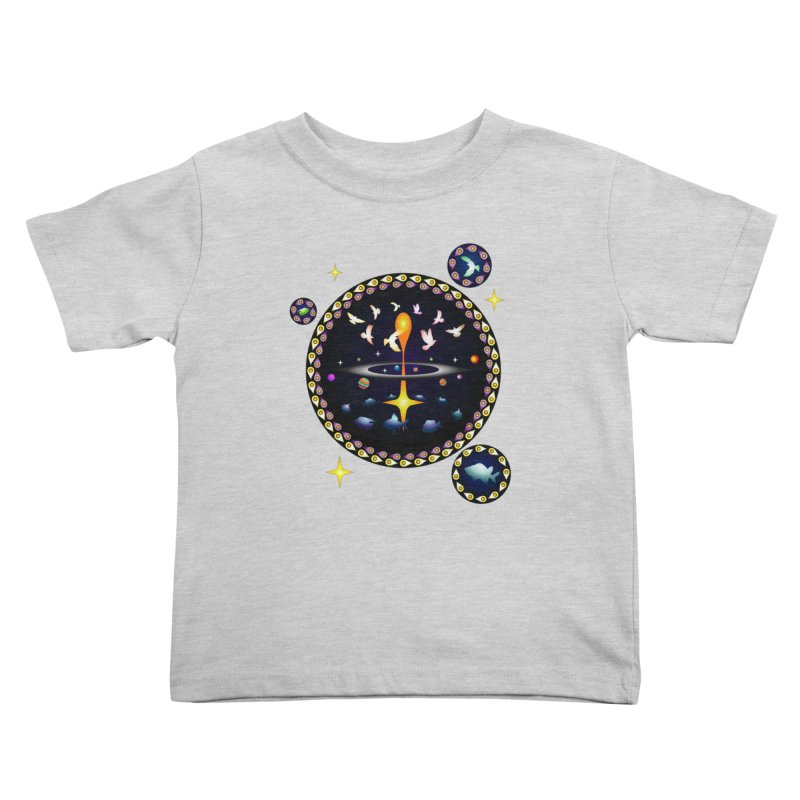 Universe of sky and sea Kids Toddler T-Shirt by Universe Deep Inside