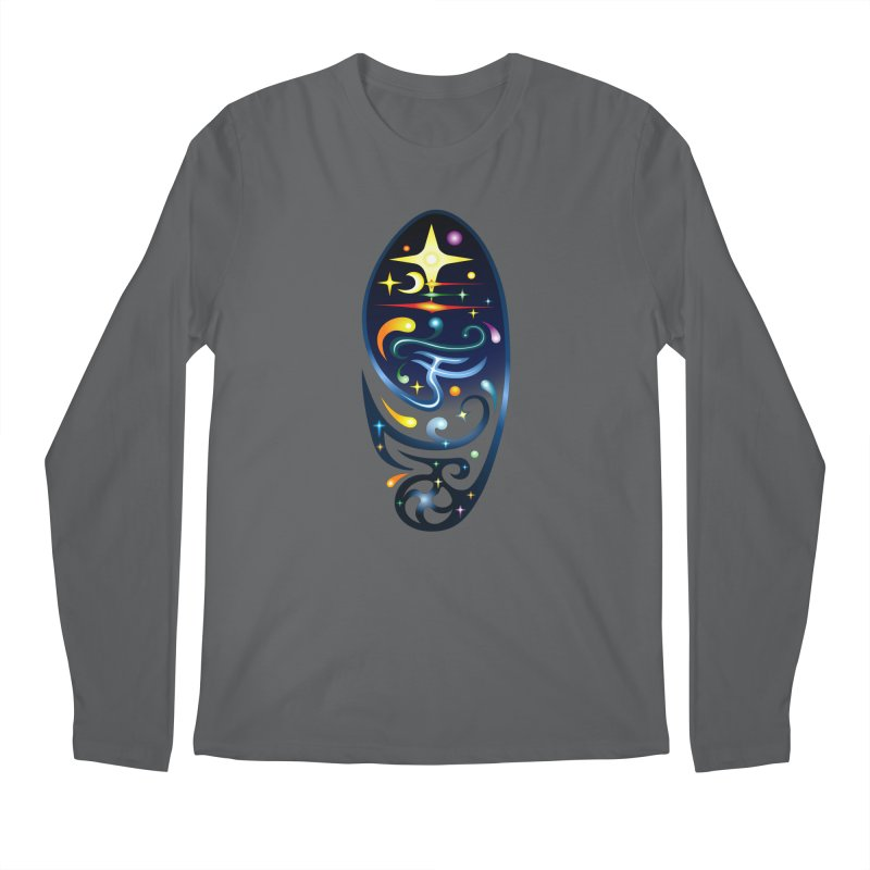 Star . Universe Men's Longsleeve T-Shirt by Universe Deep Inside