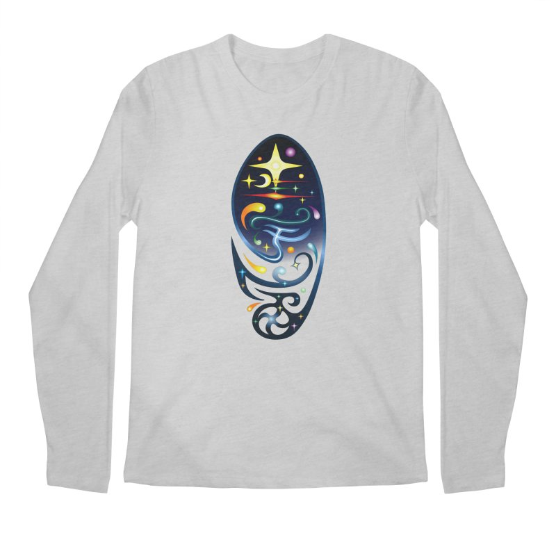 Star . Universe Men's Longsleeve T-Shirt by Universe Deep Inside