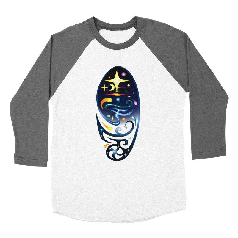 Star . Universe Men's Baseball Triblend T-Shirt by Universe Deep Inside