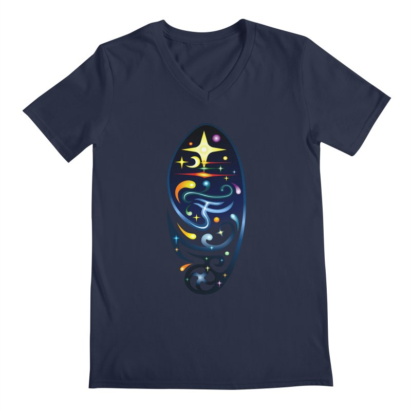 Star . Universe Men's V-Neck by Universe Deep Inside