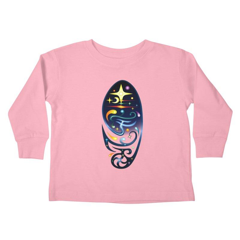 Star . Universe Kids Toddler Longsleeve T-Shirt by Universe Deep Inside