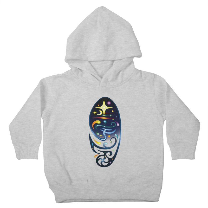 Star . Universe Kids Toddler Pullover Hoody by Universe Deep Inside
