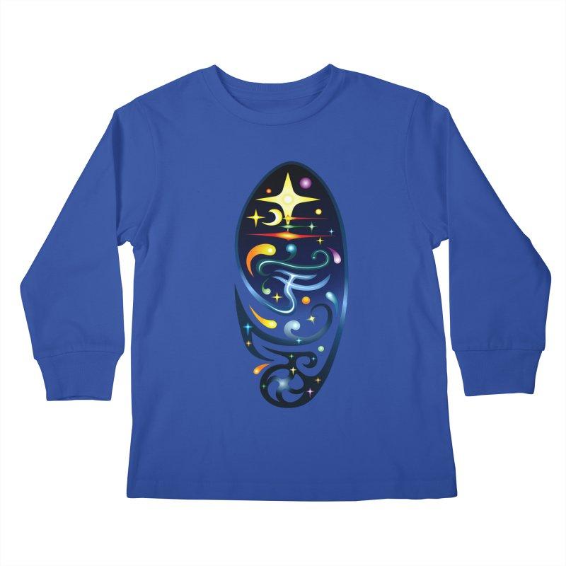 Star . Universe Kids Longsleeve T-Shirt by Universe Deep Inside