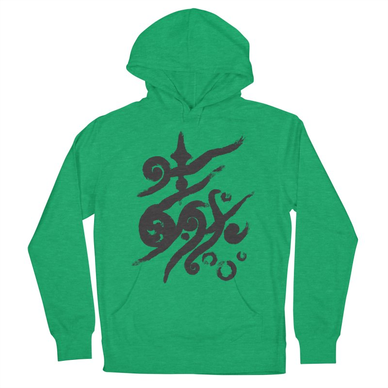 Life . nature in calligraphic style Women's Pullover Hoody by Universe Deep Inside