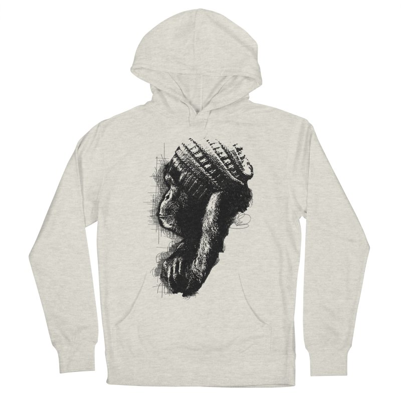 Cool Monkey Women's Pullover Hoody by udegbunamtbj's Artist Shop