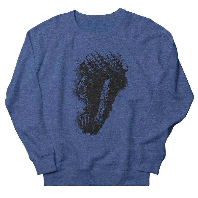 Cool Monkey Men's Sweatshirt by udegbunamtbj's Artist Shop