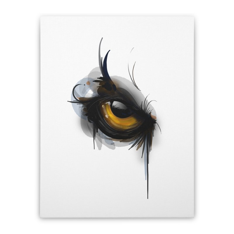 Eye Owl You Home Stretched Canvas by udegbunamtbj's Artist Shop