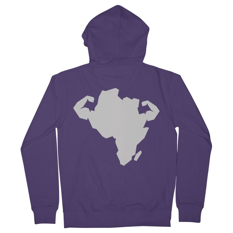 AFRI-CAN Women's Zip-Up Hoody by udegbunamtbj's Artist Shop