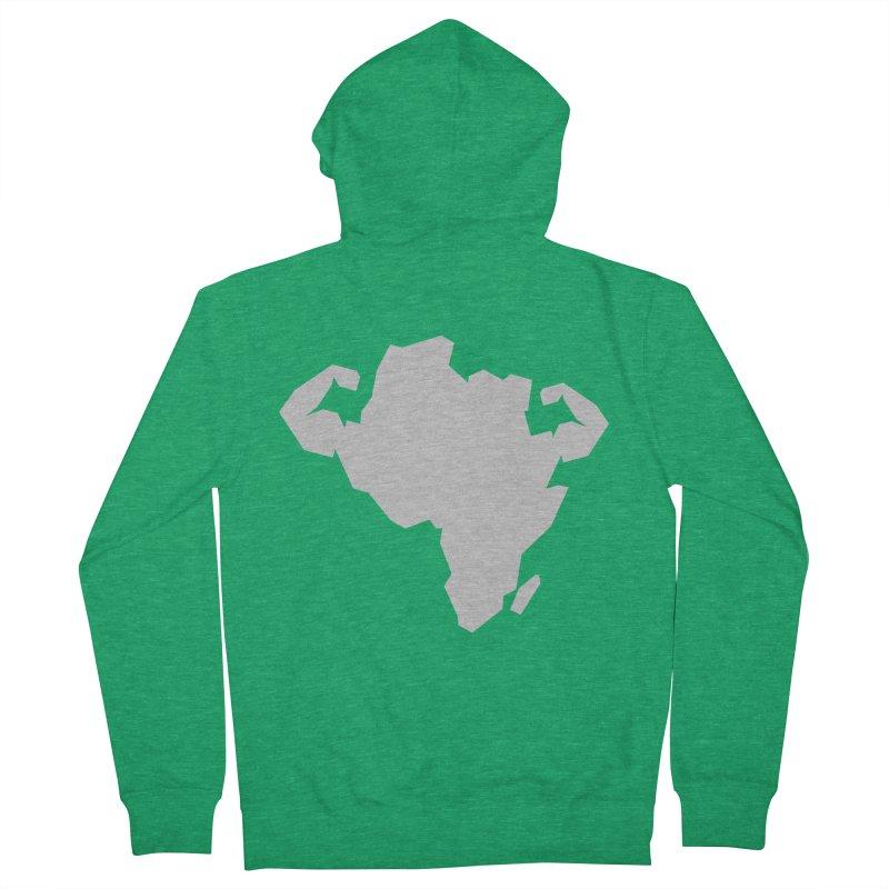 AFRI-CAN Men's Zip-Up Hoody by udegbunamtbj's Artist Shop
