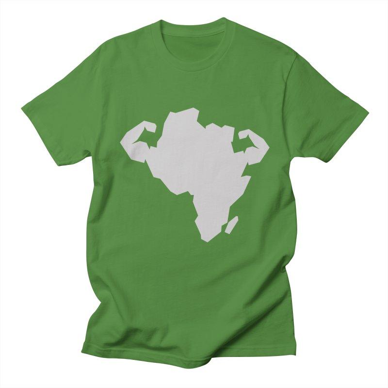 AFRI-CAN Men's T-shirt by udegbunamtbj's Artist Shop