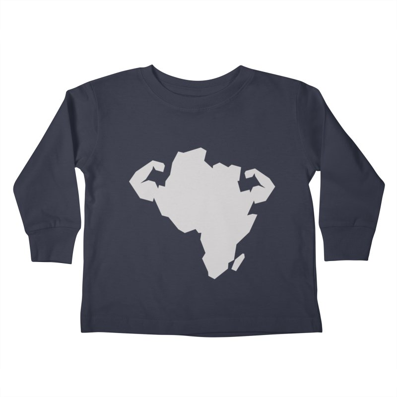 AFRI-CAN Kids Toddler Longsleeve T-Shirt by udegbunamtbj's Artist Shop